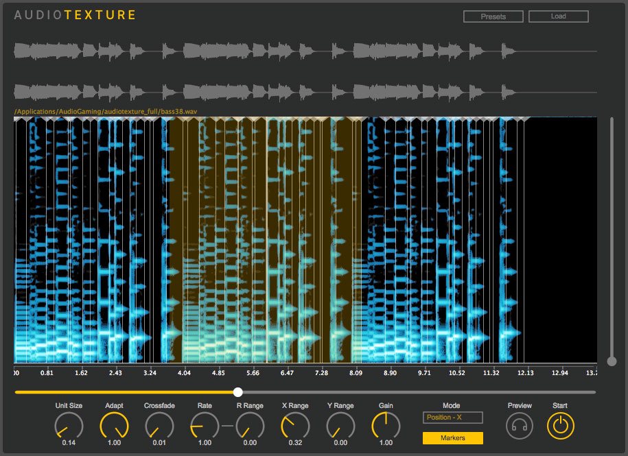 AudioTexture by LeSound (AudioGaming)).