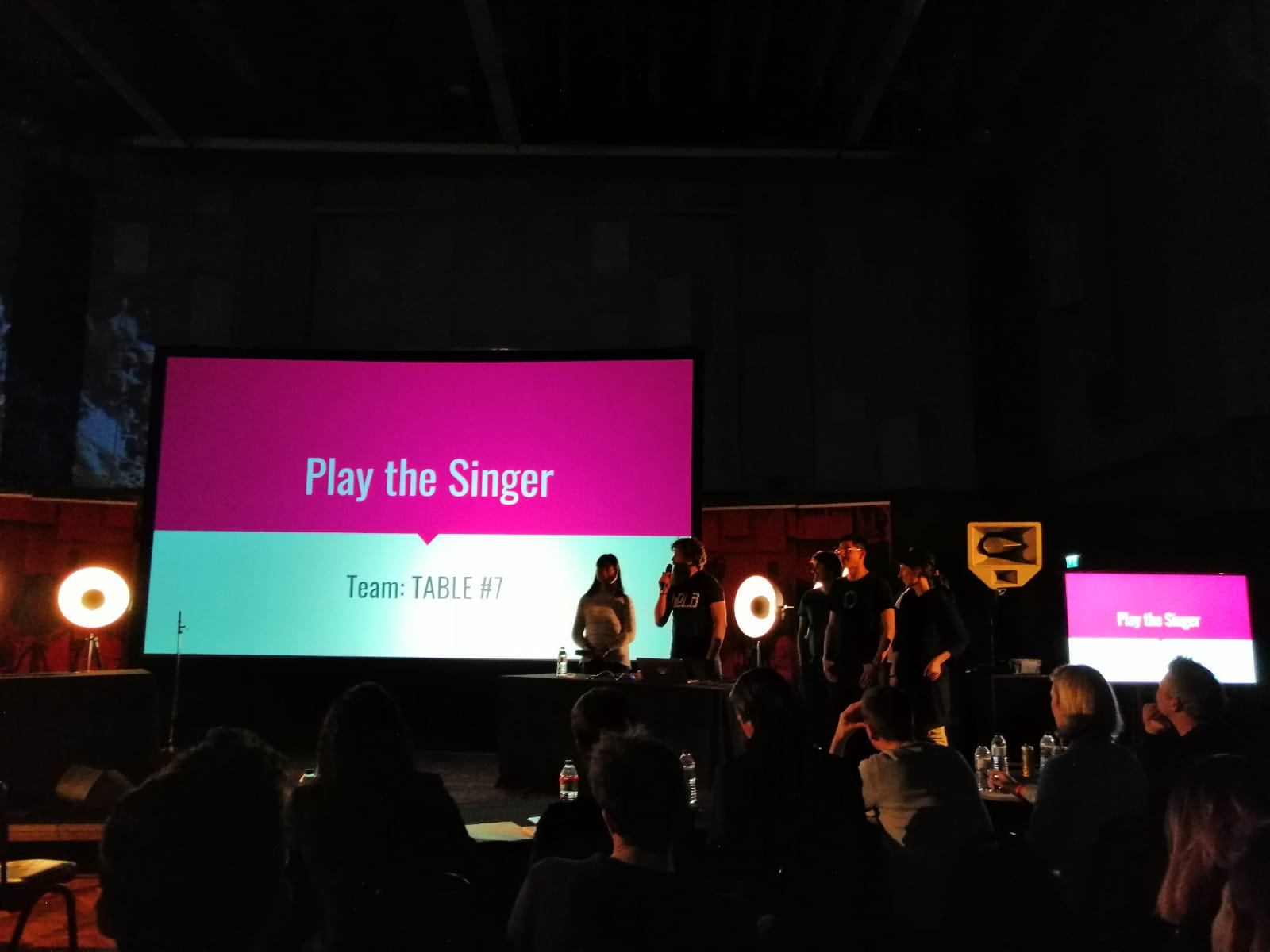 Table#7 presenting Play The Singer.